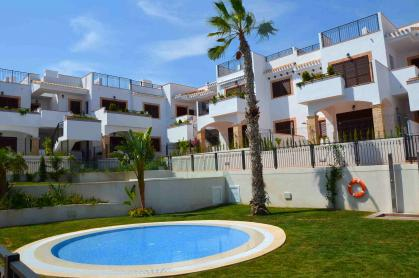 3 Bed 2 Bath Ground Floor Apartment in Azul Beach La Mata 100m From Beach La Mata