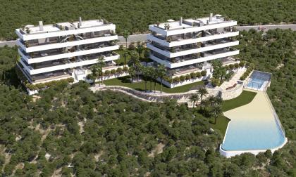 3 Bed 2 Bath New Build Apartments in Madrono Community Las Colinas San Miguel de Salinas San Miguel De Salinas