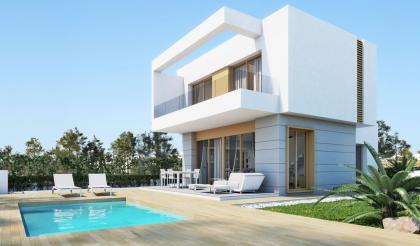 3 Bed 3 Bath New Build Detached Villa in Entre Naranjos Entre Naranjos